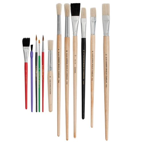 Bargain Seconds Brushes Small Set of 12 - Contents May Vary