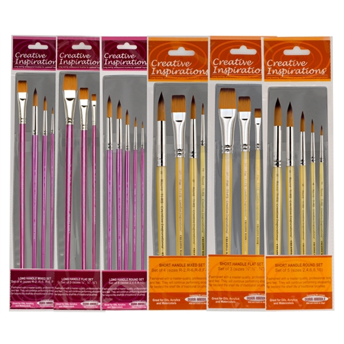 Creative Inspirations Dura-Handle™ Brush Sets