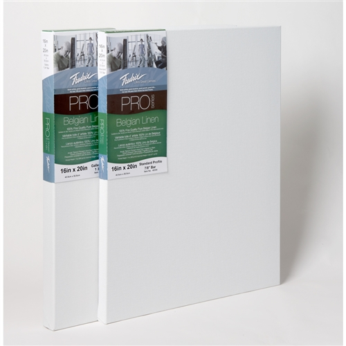 Fredrix PRO Series Belgian Linen Stretched Canvas