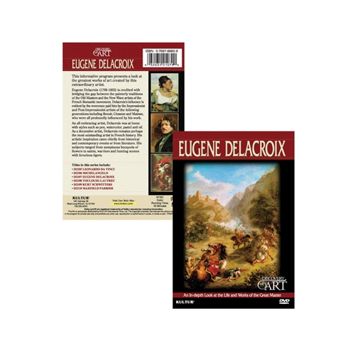 The Discovery of Art: Eugene Delacroix DVD
