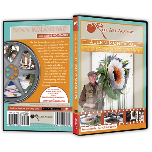 Floral Drip and Run DVD with Allen Montague