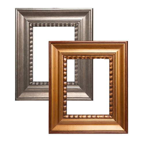 Wilson Bickford Wood Frames - Style #107 Gold and Silver