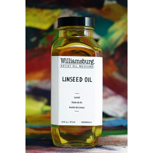 Williamsburg Linseed Oil - 16 oz. Bottle