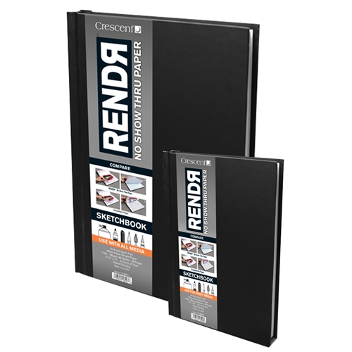 Crescent Rendr Hardbound Sketchbooks