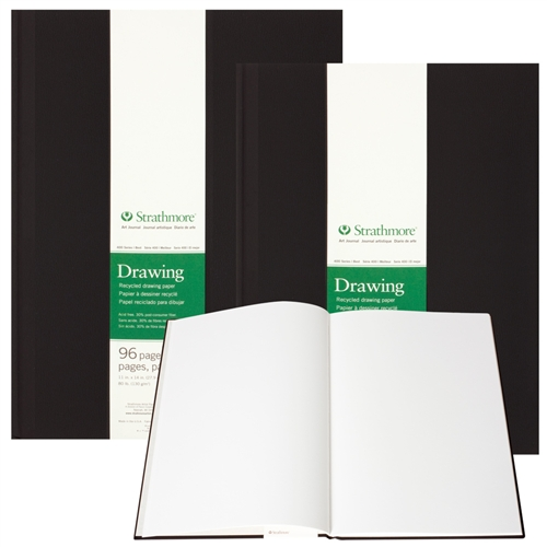 Strathmore Hardbound Art Journals - 400 Series Recycled Drawing Paper