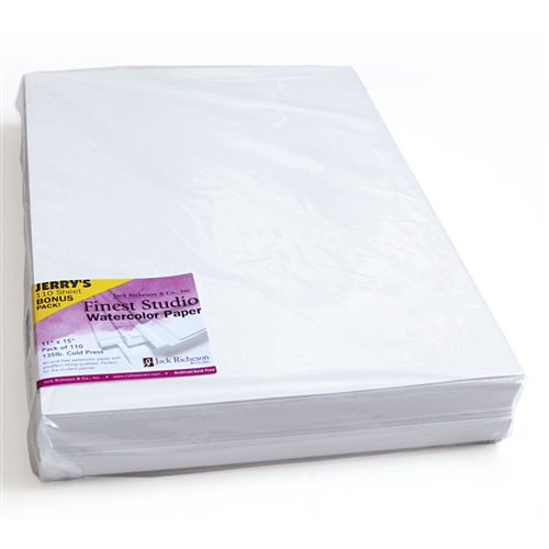 Richeson Finest Studio Watercolor Paper Bulk Packs of 110 Sheets