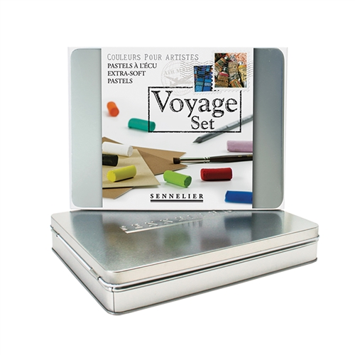 Voyage Soft Pastel Set of 10 Half Sticks