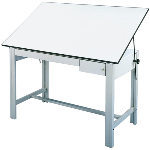 ALVIN DesignMaster is a table of superior strength, durability and comes with a lifetime guarantee!