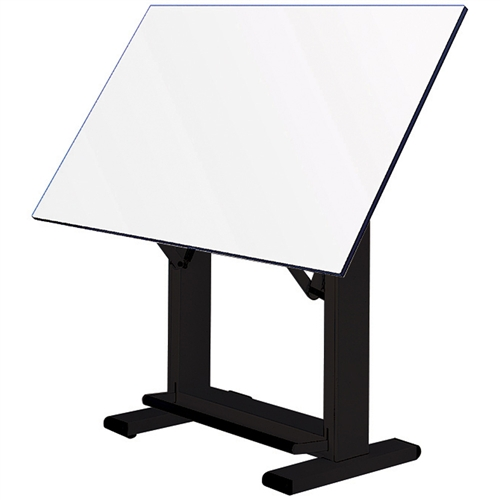 ALVIN Elite Table features angle adjusts from horizontal (0°) to 85°