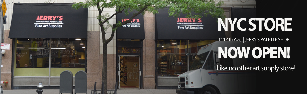 NYC Jerry's New Store, the Palette Shop