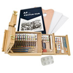 Fundamentals All-Media Easel Box Set