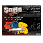 SoHo Urban Artist Gouache Set of 12