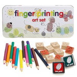 Kids Finger Printing Art Set