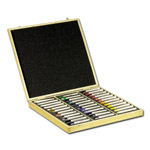 Sennelier Oil Painting Sticks Wood Box Set of 36