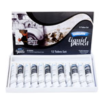 Derivan Liquid Pencil Set of 12