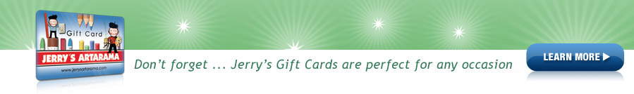 Learn more about Jerry's Gift Cards.