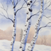 New England Winter by Wilson Bickford