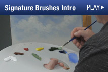 Watch Wilson Bickford's Free Demo Video about his Signature Series Brushes.