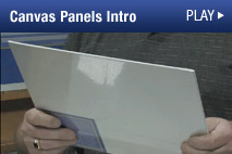 Watch Wilson Bickford's Free Demo Video about his Signature Series Canvas Panels.