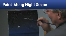 Night Scene Paint-Along with Wilson Bickford