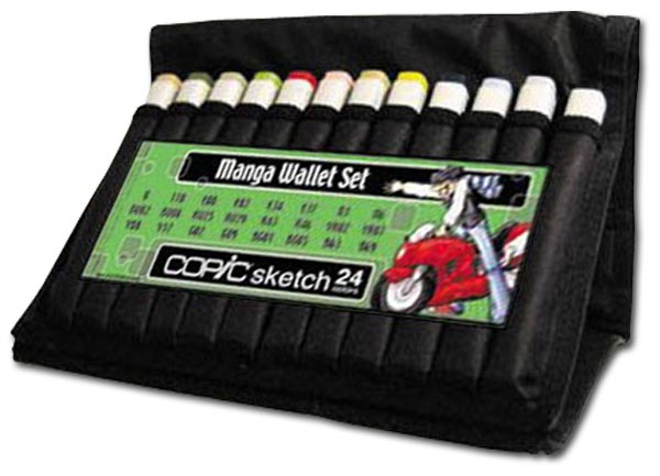 COPIC Manga Marker Wallet Sets