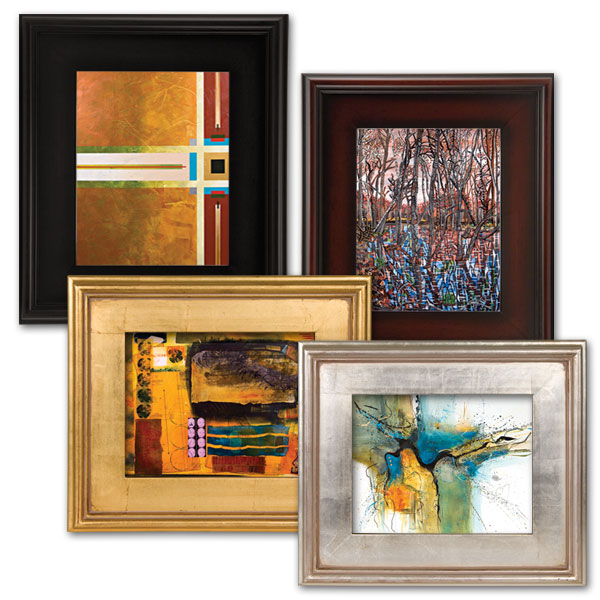 Cheap Frames From The Craft Store And Imagination: Art Frames & Framing