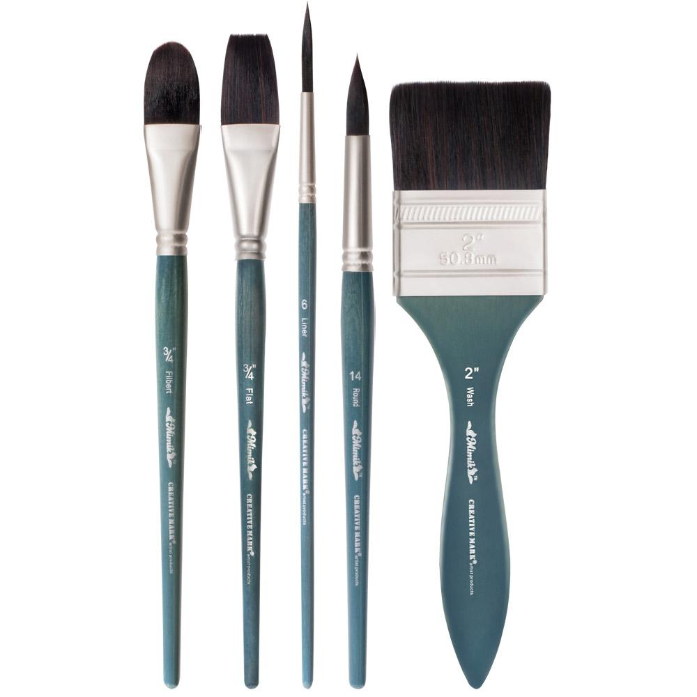 Artist brushes tools art brushes jerry 39 s artarama for Best paint brush brands