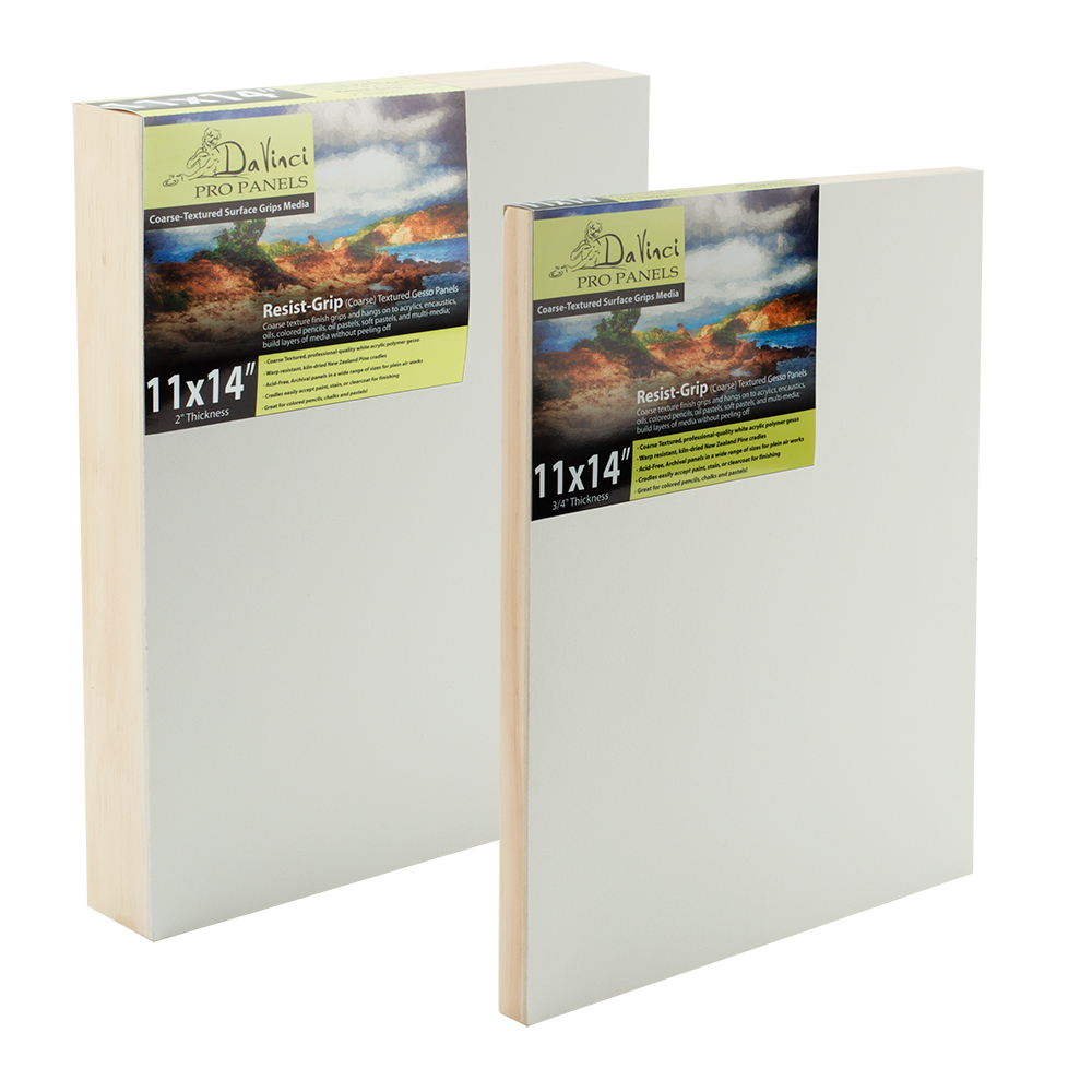 Primed and Unprimed Painting Panels - Jerry\'s Artarama