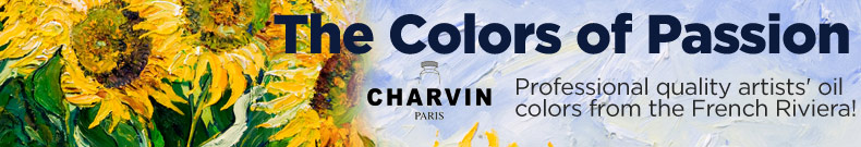 Charvin Artist Oil Colors and Mediums