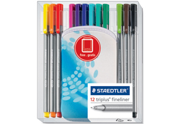 Staedler Triplus Fineliner Pen Sets