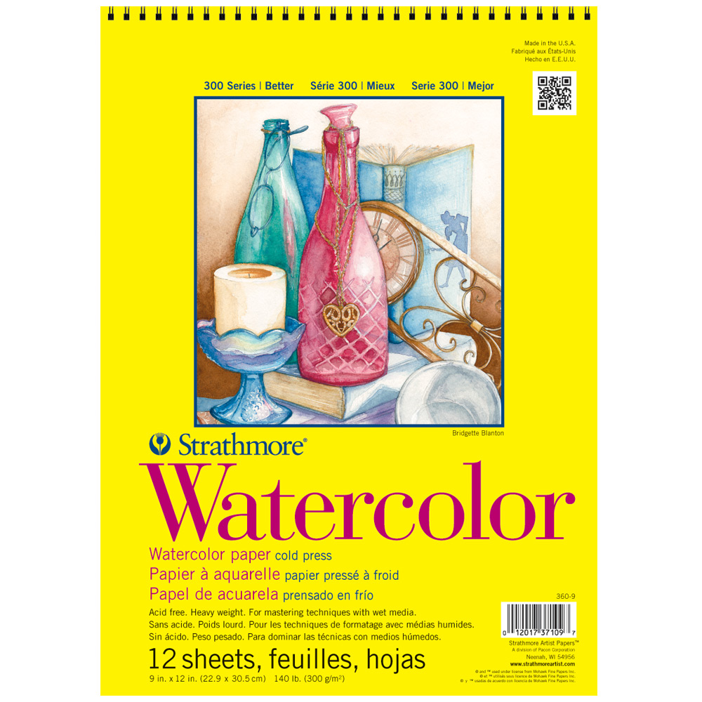 Save up to 53% Off list! ON SALE NOW! Strathmore 300 Series Watercolor Paper Pads