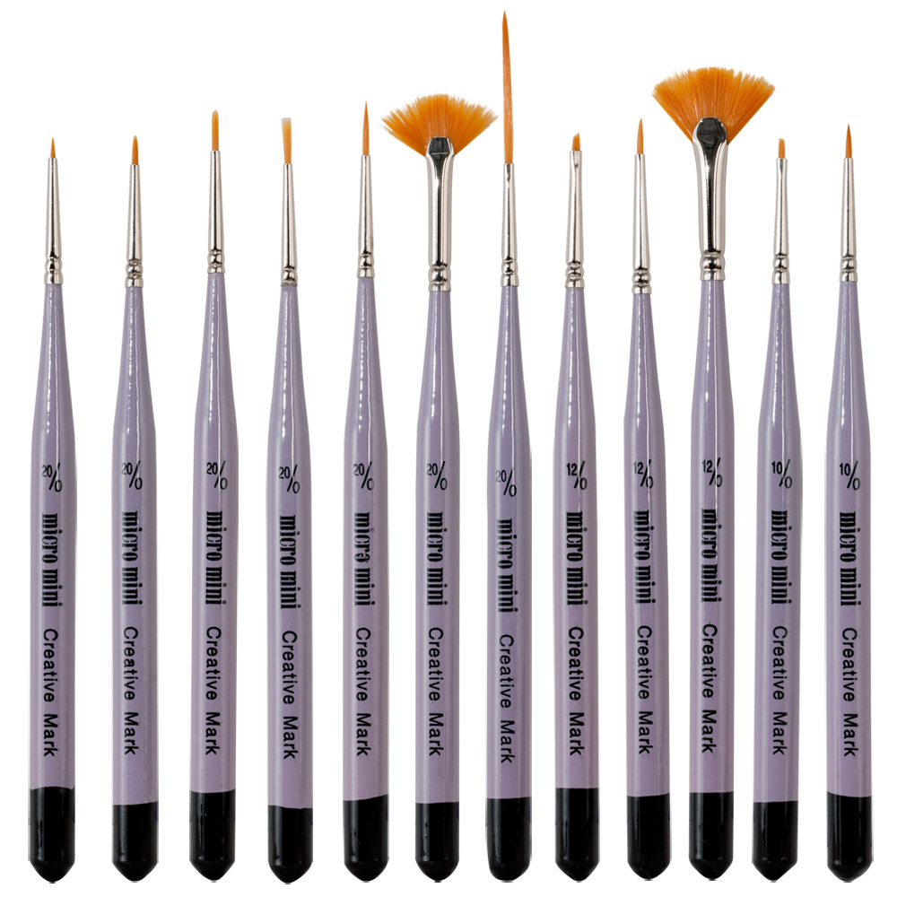 Size  Or Size  Brushes For Miniature Painting