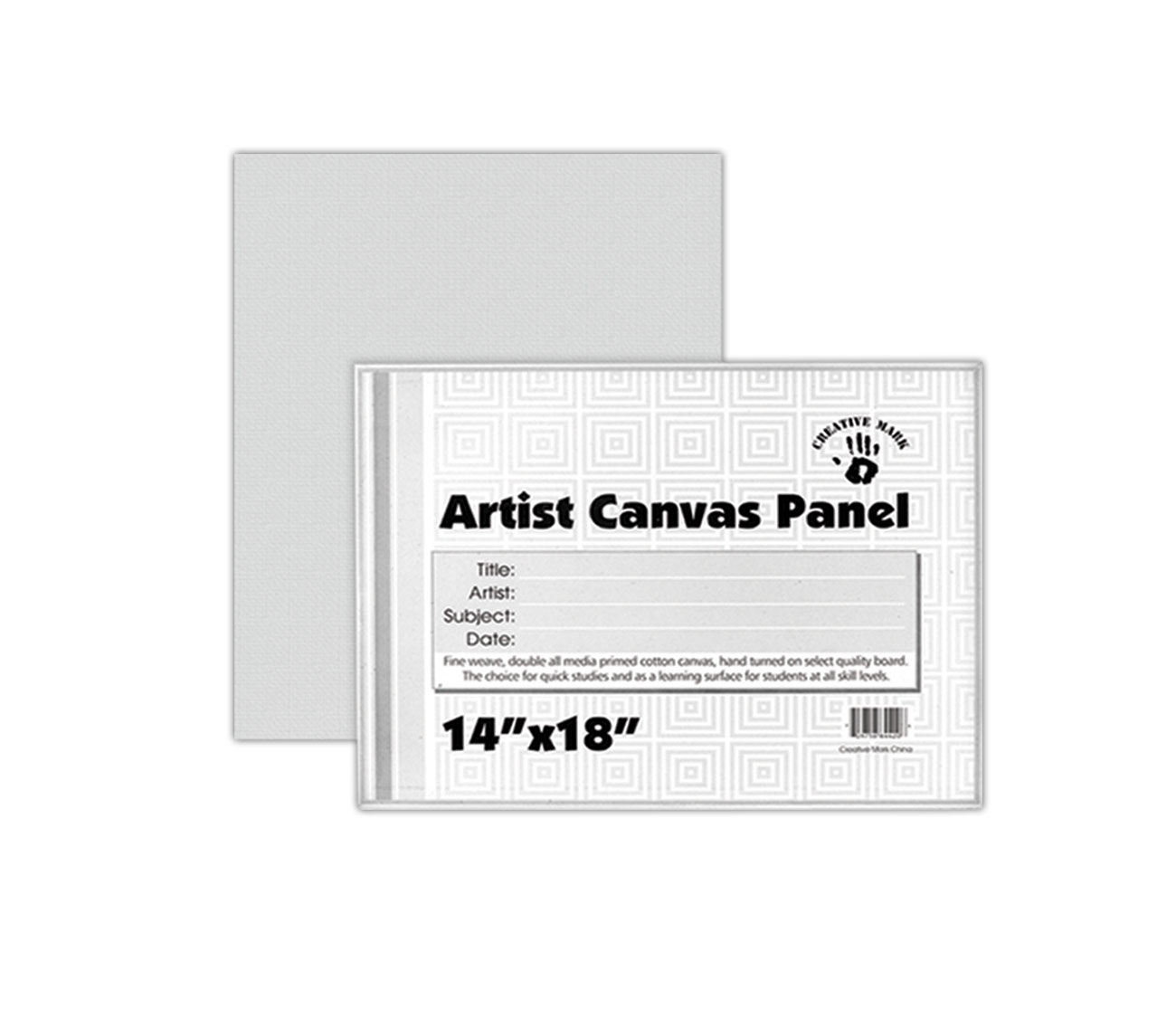 Creative Mark Canvas Panels Single or Cartons