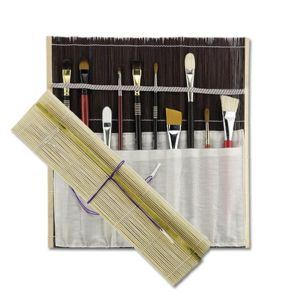 FREE* Studio Line Bamboo Brush Roll Up