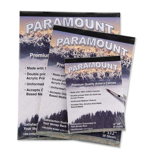 Paramount Universal Primed Cotton Canvas Pads