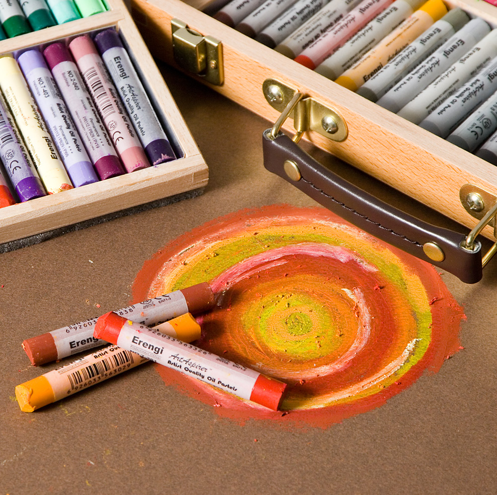 BUY ONE GET ONE FREE Erengi ArtAspirer Oil Pastels Starting at $1.19 ea.