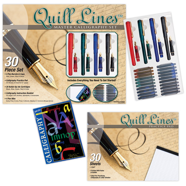 Quill Lines Calligraphy and Drawing Pens