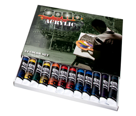 SoHo Urban Artist Heavy Body Acrylic Paints Value Set