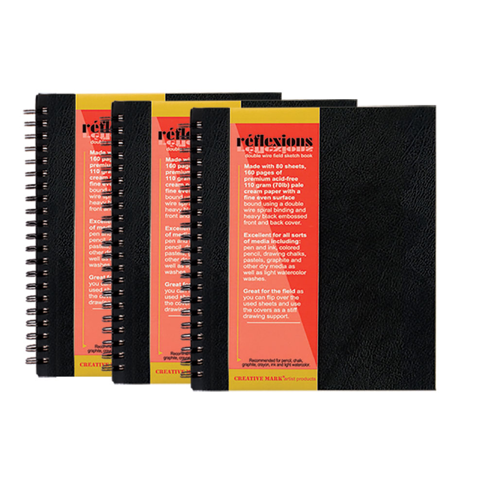 Reflexions Double Wire Field Sketch Books