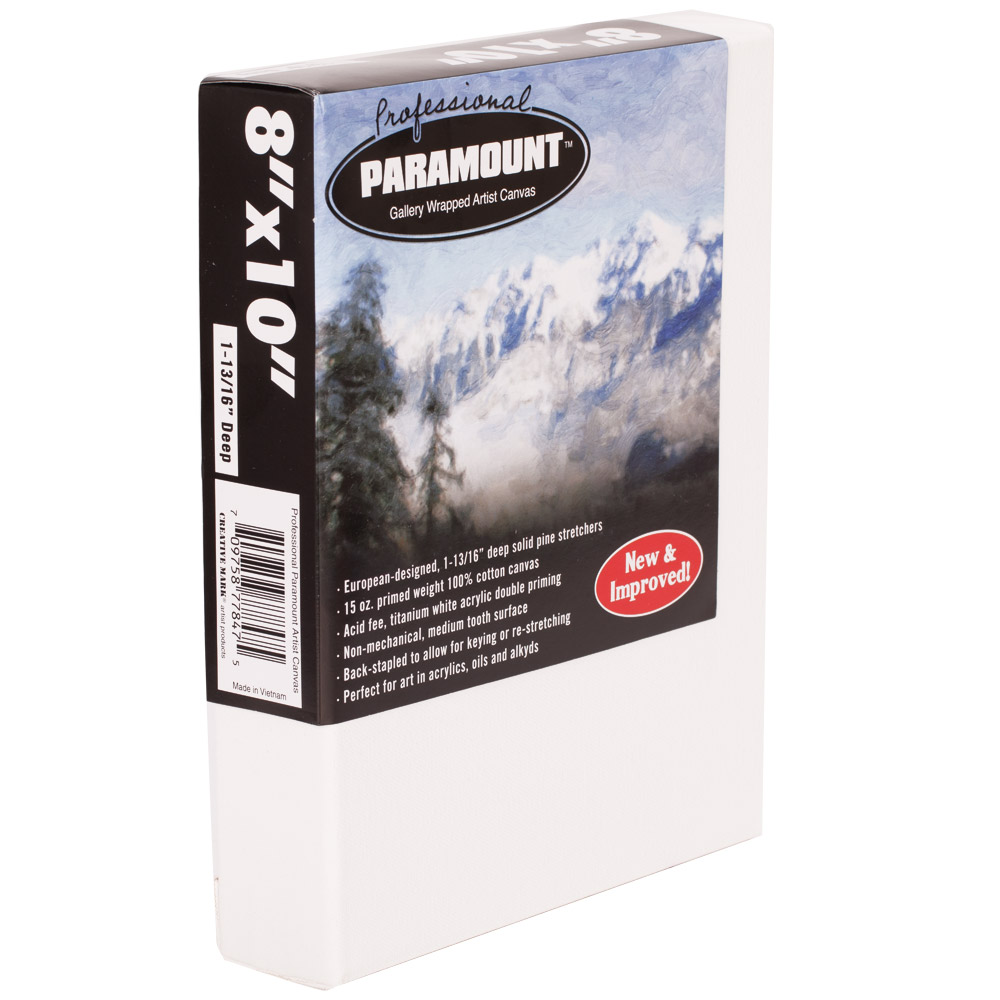 Paramount 1-13/16 Professional Gallery Wrap Canvas Boxes Of 3