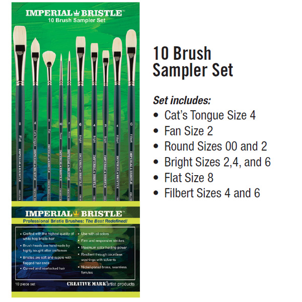 Imperial Professional Bristle Brush Set