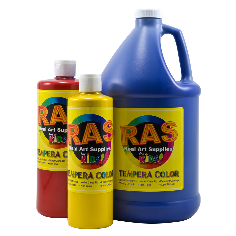 RAS Tempura Paint 1 Gallon Jugs