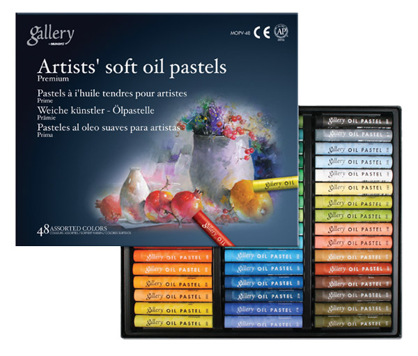Mungyo Gallery Artists Soft Oil Pastels Set of 48