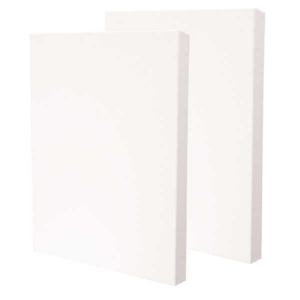 Fredrix PRO Series 12oz Dixie Stretched Canvas - Gallerywrap 1-3/8 Deep Boxes of 3