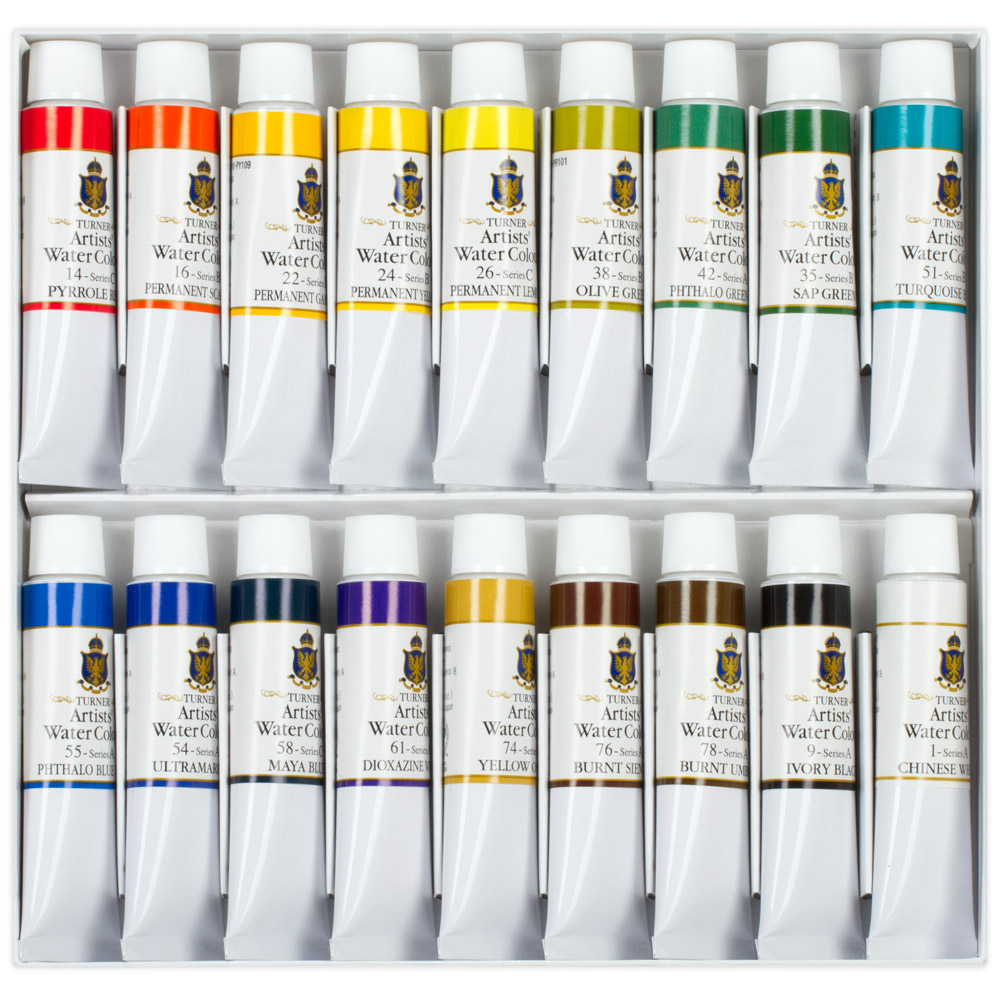 Turner Watercolor Sets