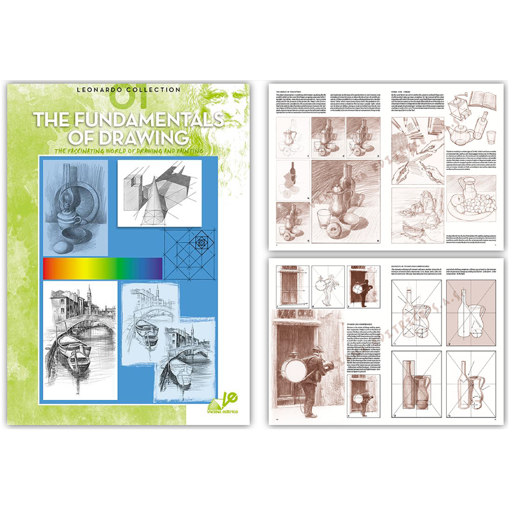 Leonardo Art Education Instruction Books