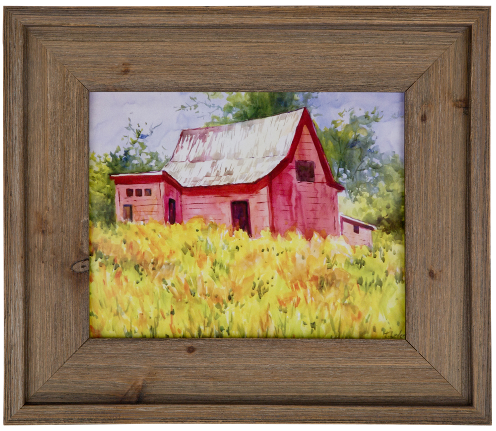 Barn wood frame  Etsy