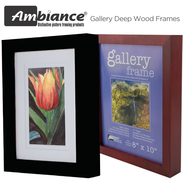 Ambiance Gallery 1.5 Deep Wood Frames