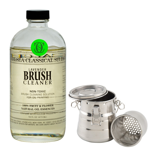 Lavender Scented Non-Toxic Brush Cleaner- Chelsea Classical