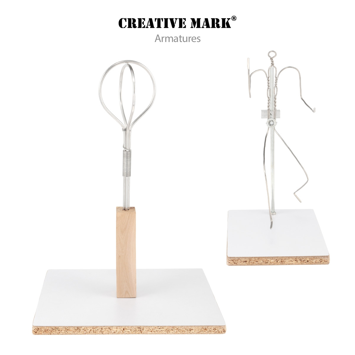 Head, Bust & Figure Armatures By Creative Mark